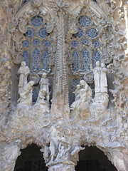 The Nativity Scene at La Sagrada Familia, Barcelona, By Chang'R